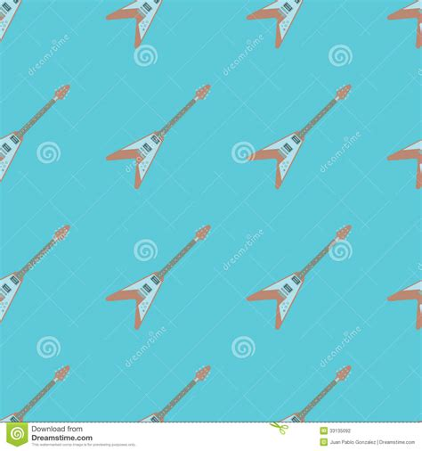 body pattern photography electric guitar v body seamless pattern stock photography