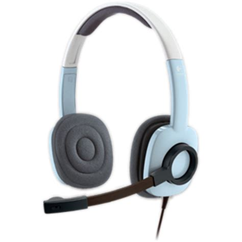 Logitech Stereo Headset H 250 logitech h250 stereo headset blue 981 000376 b h photo
