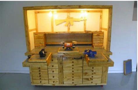 The Reloading Bench I Want Things I Want For My House Pinterest Reloading Bench