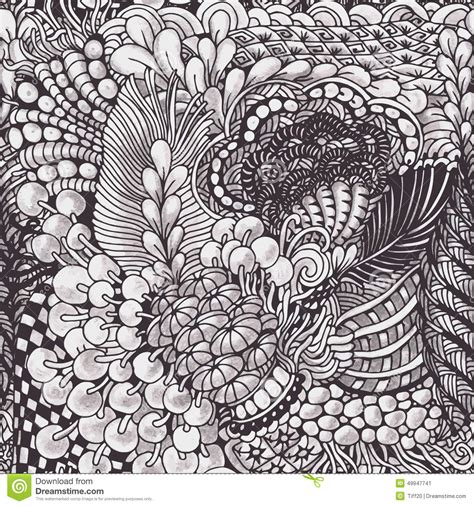 drawing pattern download zentangle pattern stock vector illustration of decor