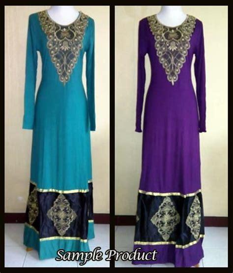 Maxi Talita Talita Gamis Talita Talita Dd baju gamis pesta rukmini bordir p877 busana muslim modern