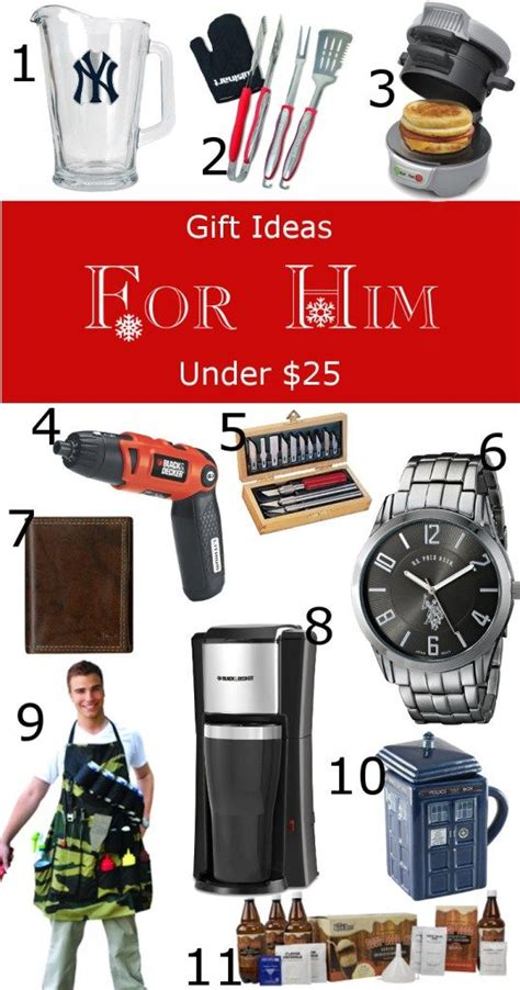 gift guide for him and boyfriends on pinterest