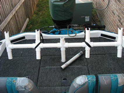 mounting rod holders on bass boat homemade trolling rod holder improvement suggestions