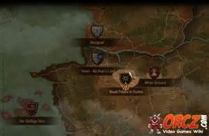 Witcher 3 royal palace in vizima map orcz com the video games