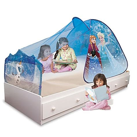 Frozen Canopy Bed Disney 174 Quot Frozen Quot Sleep Away Bed Tent Buybuy Baby
