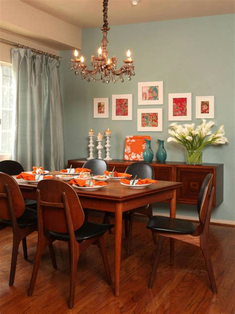 best dinning room wall colors our fave colorful dining rooms living room and dining room decorating ideas and design hgtv