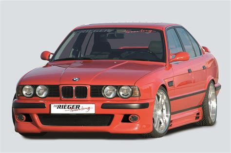 bmw e39 abs rieger abs fits bmw typ e34 m5 e39 look front bumper 53011