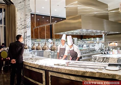 Kitchen Expo Italy Finestra S Chef S Table In Solaire Resort And Casino