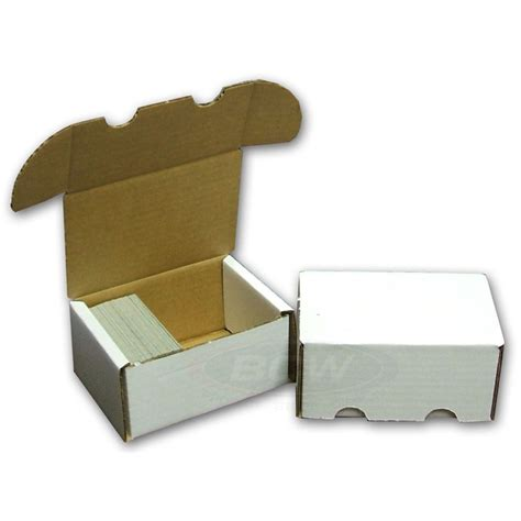baseball card storage box template bcw trading card slab storage shipping box 300 count