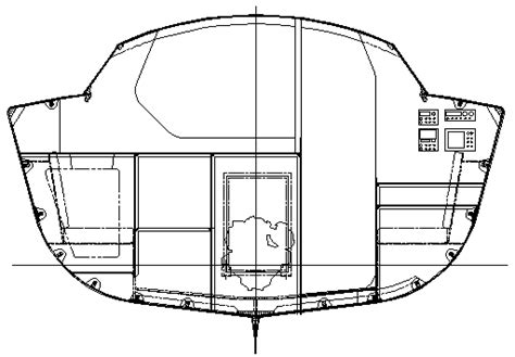 boat hull sections didi 34 radius chine plywood cruiser racer