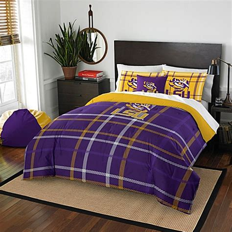 Lsu Bedding Bed Bath Beyond Lsu Crib Bedding