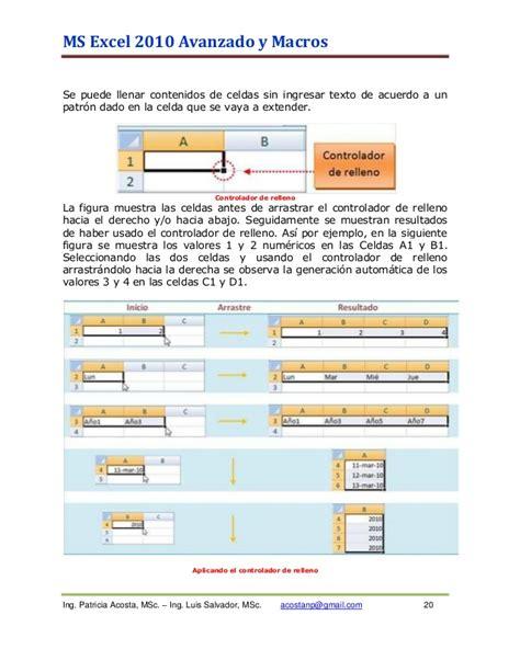 tutorial macros excel 2010 pdf tutorial excel 2010 macros patricia acosta