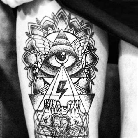 tattoo inspiration triangle 25 best eye triangle tattoo images on pinterest triangle
