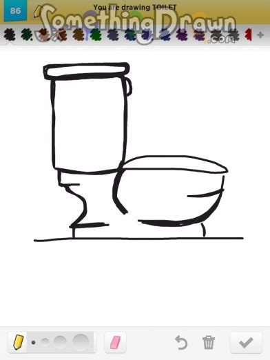 how to draw a toilet somethingdrawn toilet by asfisha on draw something