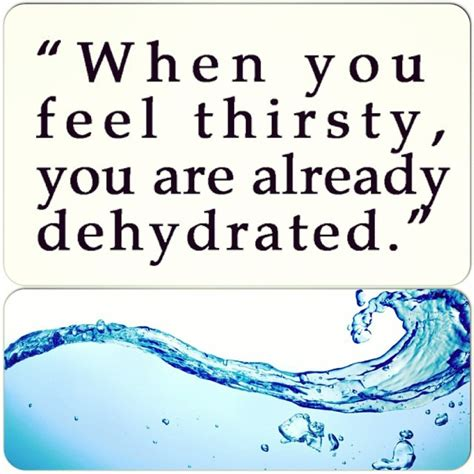 hydration quotes do you recognize the signs of dehydration bragg live