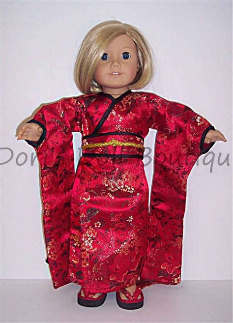kimono pattern for 18 doll 17 best images about halloween for american girl dolls on