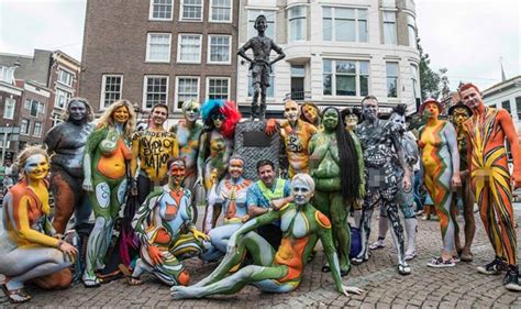 bodypainting festival amsterdam 2016 amsterdam bodypainting day at baerlestraat 33a