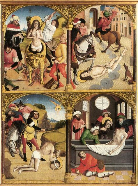 the legend of st from the legend of st george by unknown master flemish
