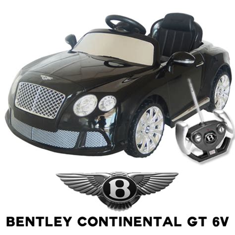 official bentley continental gt 6v electric car 163