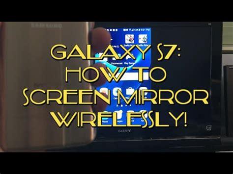 galaxy   edge   screen mirror wirelessly