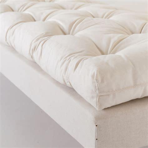 lit futon 200x200 futon coton 224 l ancienne pour lits deux personnes