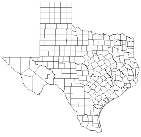 el co texas map texas county map freetemplate