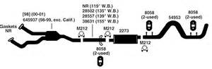 2014 Ram 1500 Exhaust System Diagram Dodge Ram 1500 Exhaust Diagram From Best Value Auto