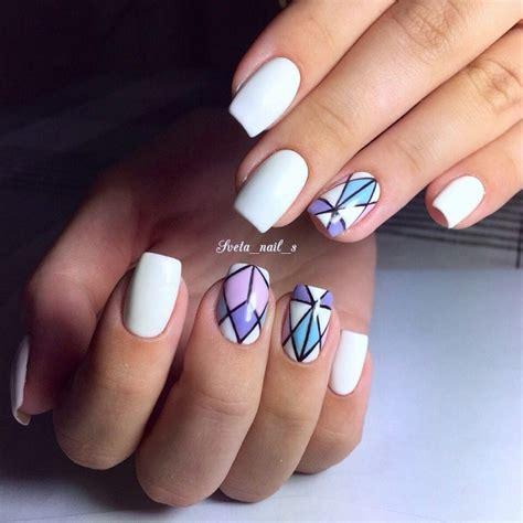 Geometric Nail Designs