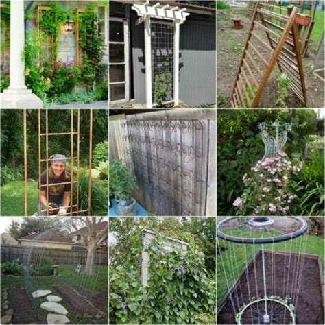 Diy Garden Trellis Ideas 18 Diy Garden Trellis Projects