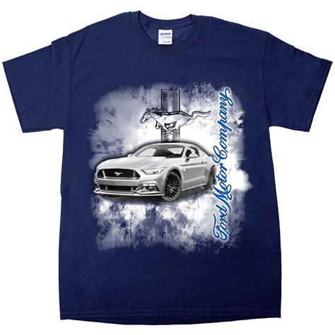 T Shirt Oskh 95 Blue apparel t shirt sleeve navy blue ford mustang burnout