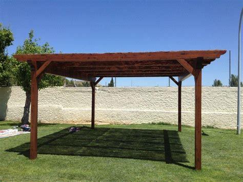 parasol de jardin pergolas de madera para jardin patio lawn garden ideas pixelmari