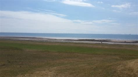 wind farm out at sea on walney island picture of south walney nature reserve barrow in