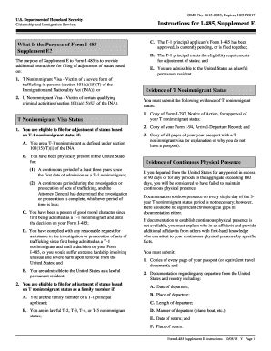 supplement 1 uscis form i 485 templates fillable printable sles for