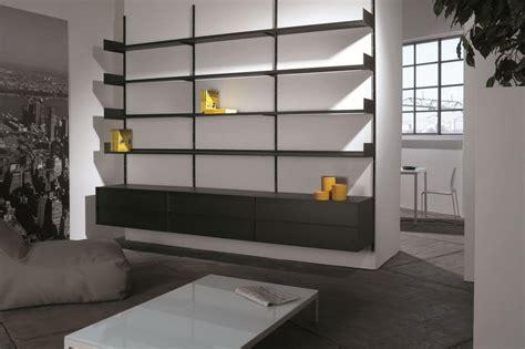 librerie a muro design libreria a muro modulare in metallo laccato per