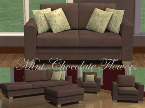 Sims 3 Sectional Sofa Mod The Sims 6 Recolours Of Boys Modular Sofa