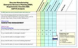 Requirements Gap Analysis Template by Software Requirements Checklist Fit Gap Analysis
