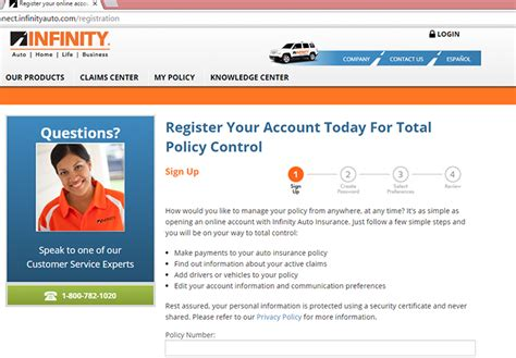 infinity insurance login infinity auto insurance login make a payment
