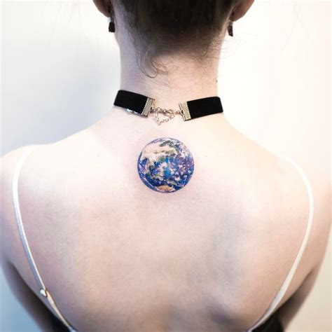 20 vivid earth tattoo designs and ideas tattoobloq