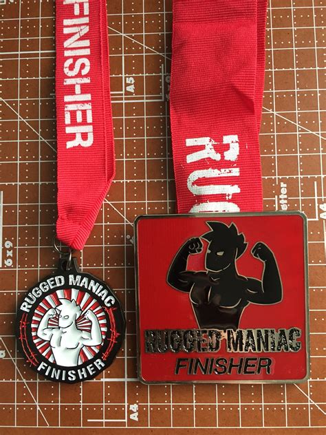 rugged maniac medal race recap rugged maniac south caroliona mud run obstacle course race warrior guide