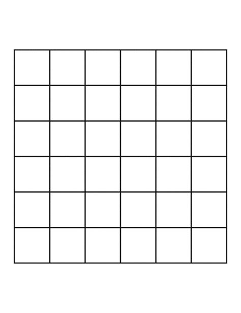 Grids6x6 6 by 6 grid clipart etc
