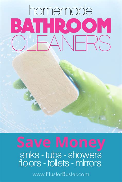 make your own bathroom cleaner make your own bathroom cleaners fluster buster