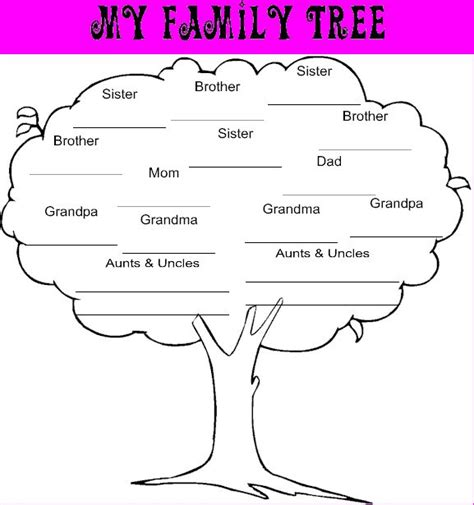 printable family tree in spanish all worksheets 187 spanish family tree worksheets
