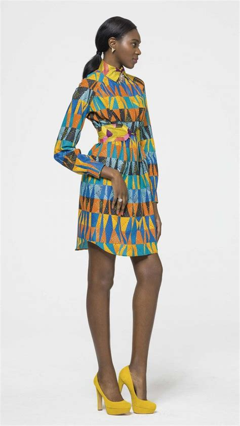 african kitenge shirts chic sleek vlisco v inspired african fashion ankara