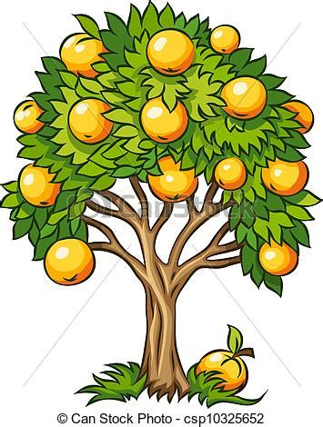fruit tree clipart clipart vector of fruit tree isolated fruit tree vector