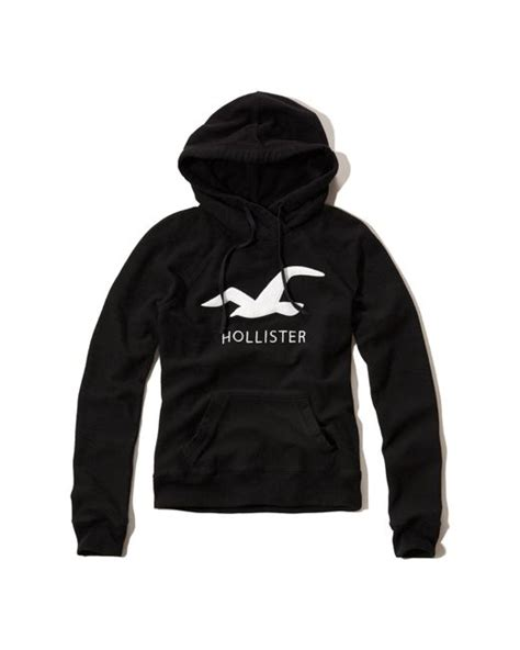 Hoodie Sweater Save The Children Black Front Logo hollister logo graphic hoodie in black save 50 lyst