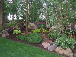 100 natural hardwood mulch shade gardens