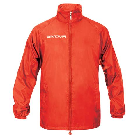 best light rain jacket givova basic rain jacket top training jogging footbal gym