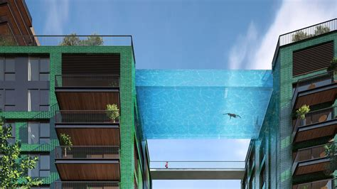 glas pool s transparent sky pool lets swimmers see 10