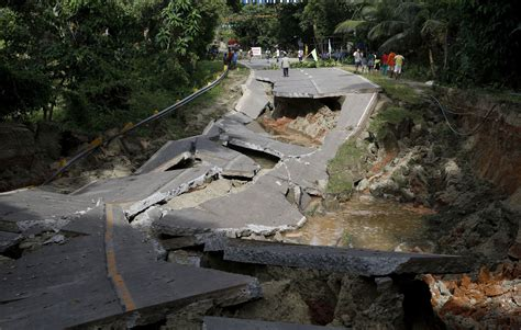 earthquake latest powerful earthquake strikes the philippines the atlantic