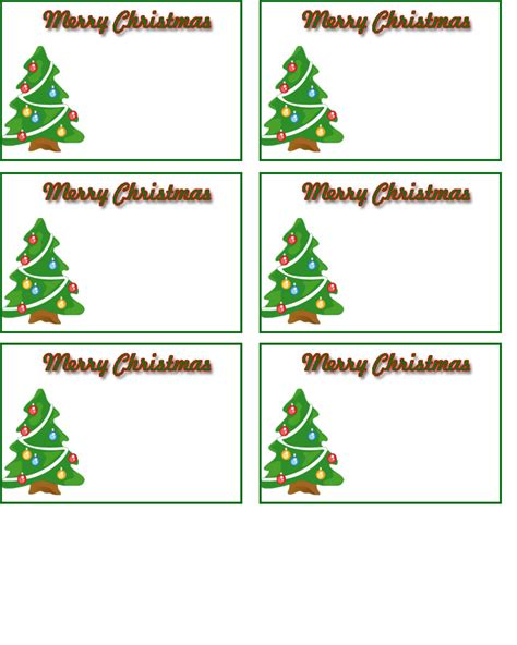 free christmas name tags printable search results
